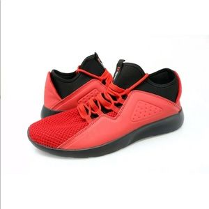 Alpine Swiss Enzo Red Fashion Sneakers Shoes